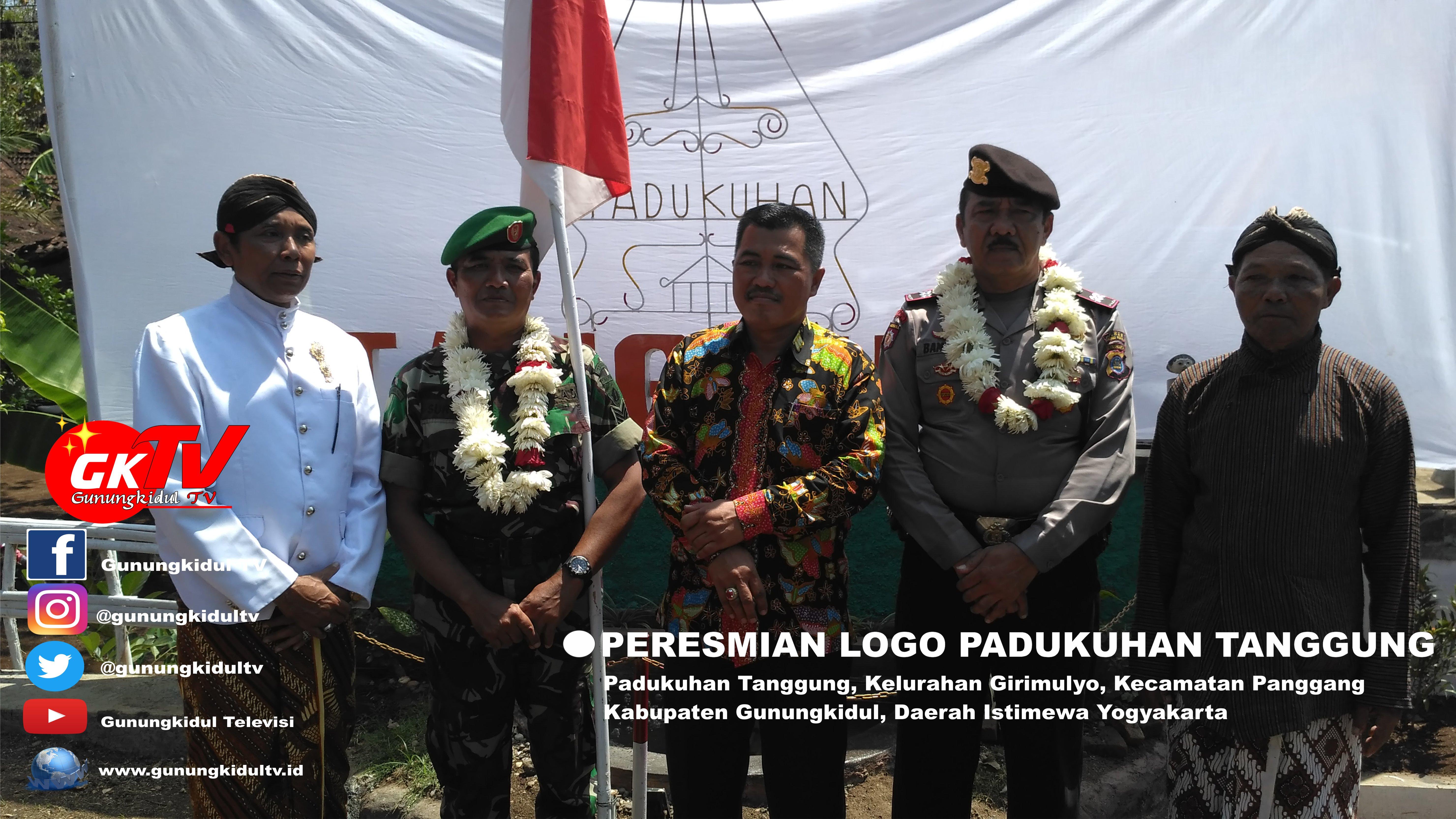 Peresmian Logo Dusun Tanggung Desa Girimulyo Panggang Gunungkidul