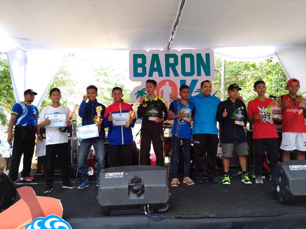 Ribuan Peserta Ikuti Lomba Lari Baron 10 K Gunungkidul 2017