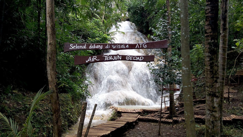Air Terjun Gedad, Air Terjun Di Tengah Pemukiman Warga Dusun Gedad Playen (Mengenang Kembali)