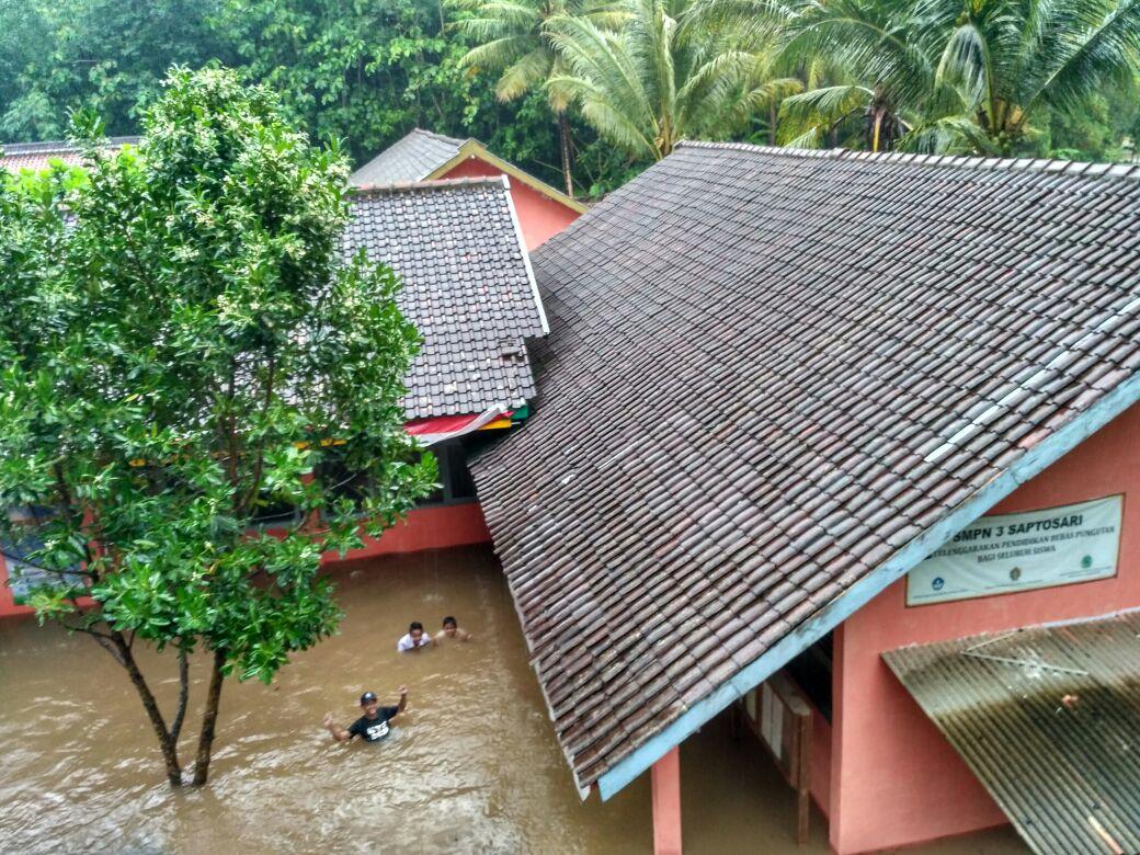 Banjir di Gunungkidul Semakin Semakin Meluas, Inilah Kondisi Updatenya