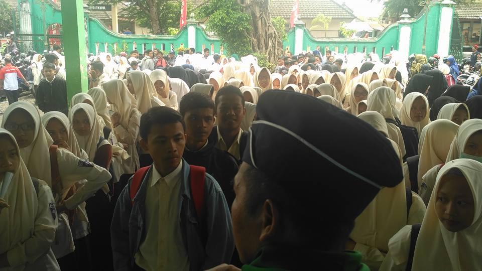 Milad Muhammadiyah 105, Ribuan Pelajar Muhammadiyah Gunungkidul Study Film Nyai Walidah