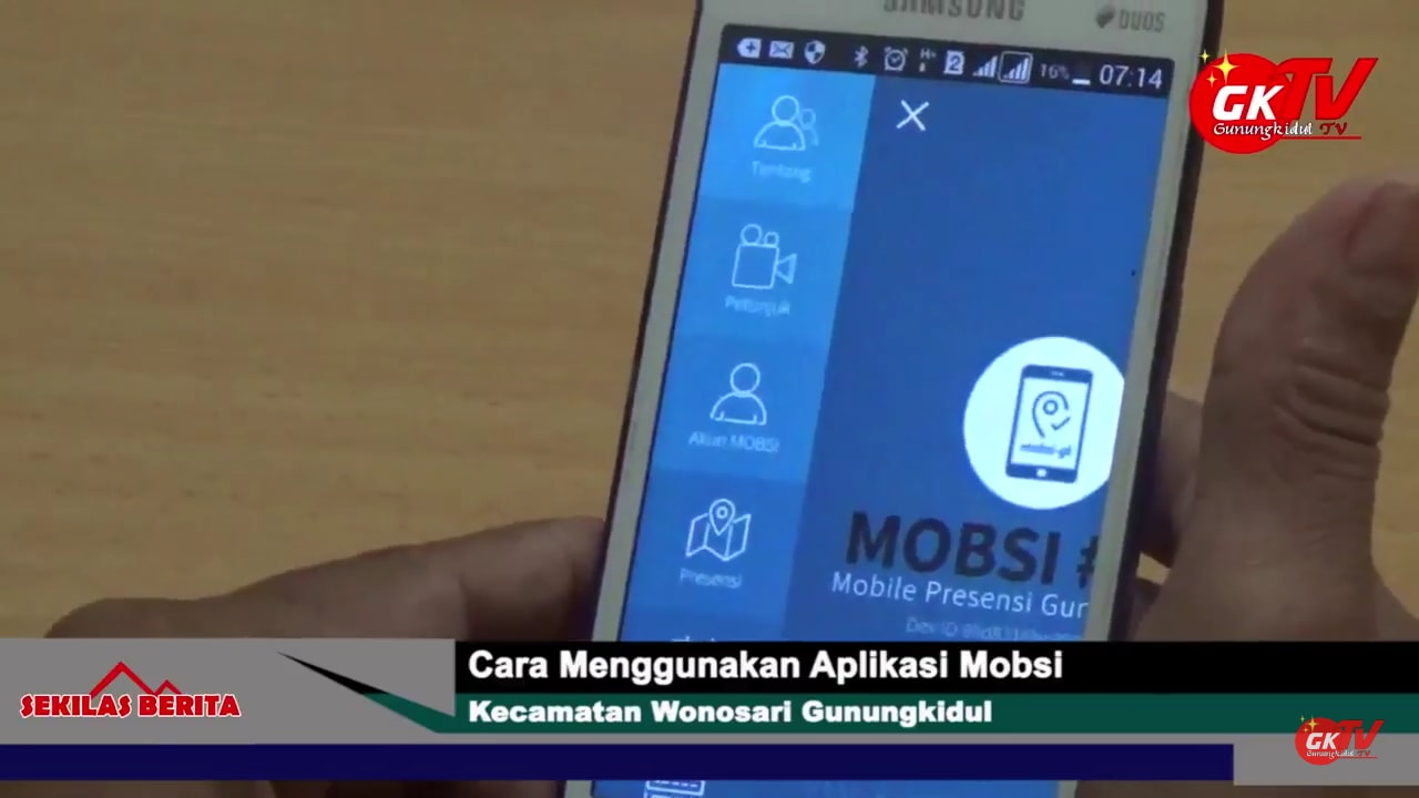 Aplikasi MOBSI BKD Gunungkidu