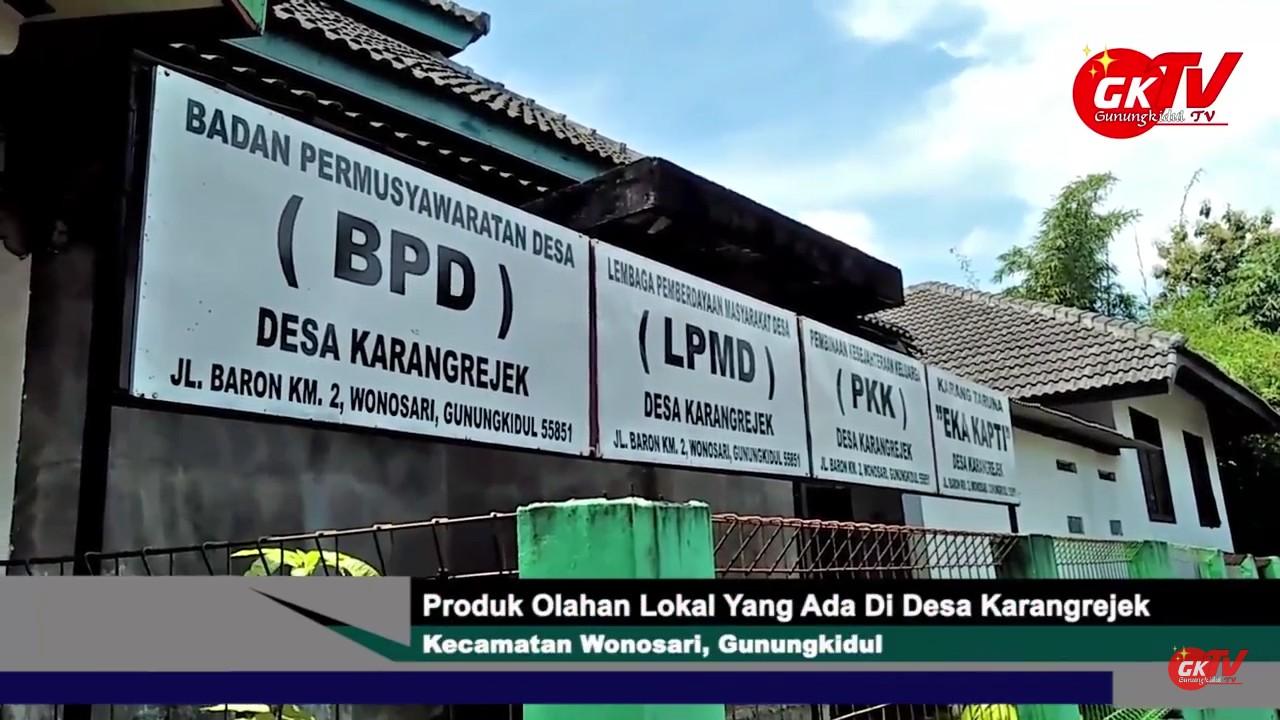 Inilah Salah Satu Produk Olahan Lokal di Desa Karangejek Wonosari