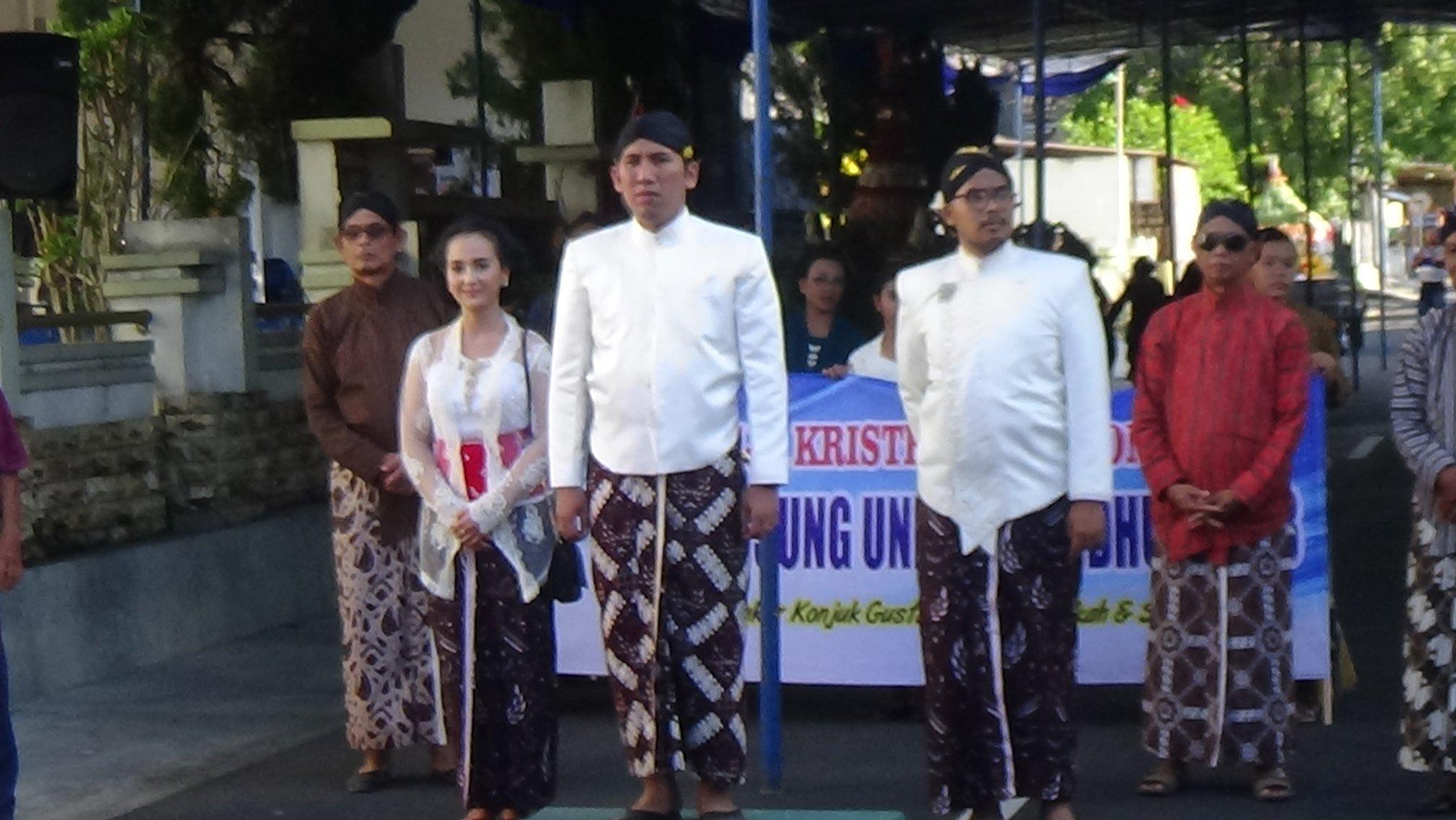 GKJ Wonosari Adakan Kirab Pisungsung Undhuh Undhuh 2018
