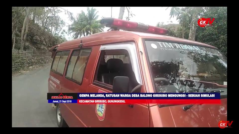 Desa Tanggap Bencana Desa Balong Girisubo
