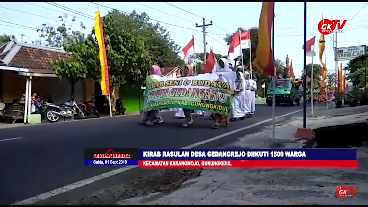 Rasulan Desa Gedangrejo Kecamatan Karangmojo 2018