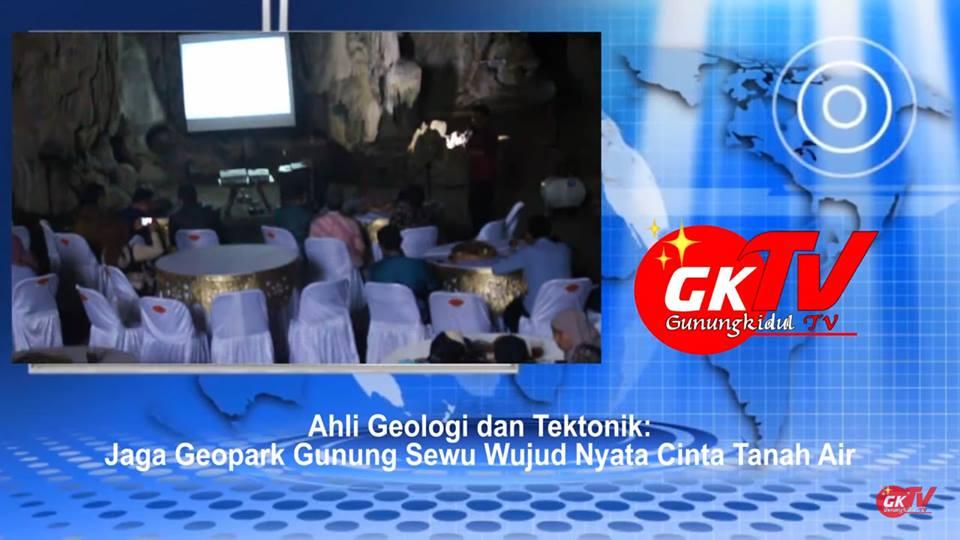 Gb. Pengelola dan pecinta Geopark Gunung Sewu adakan Temu Gathering di Goa Racang Playen