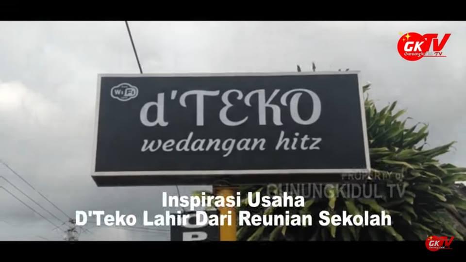 Inspirasi Usaha #01: Cafe Hits D'Teko Ada Karna Reunian Sekolah