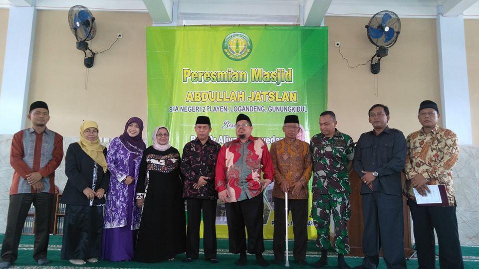 Islamic Center SMAN 2 Playen Gunungkidul Akhirnya Diresmikan