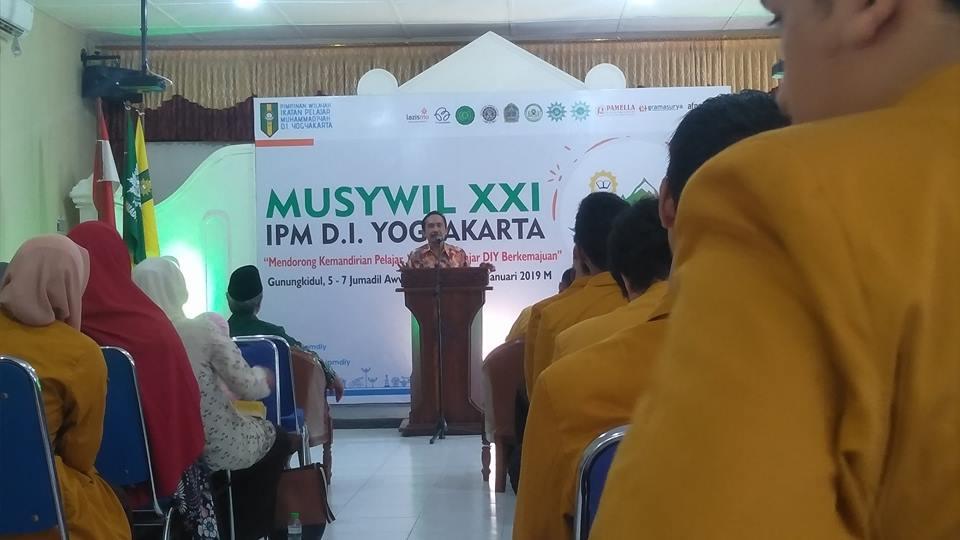 PW IPM DIY Bahas Kemandirian Pelajar Berkemajuan di Kabupaten Gunungkidul