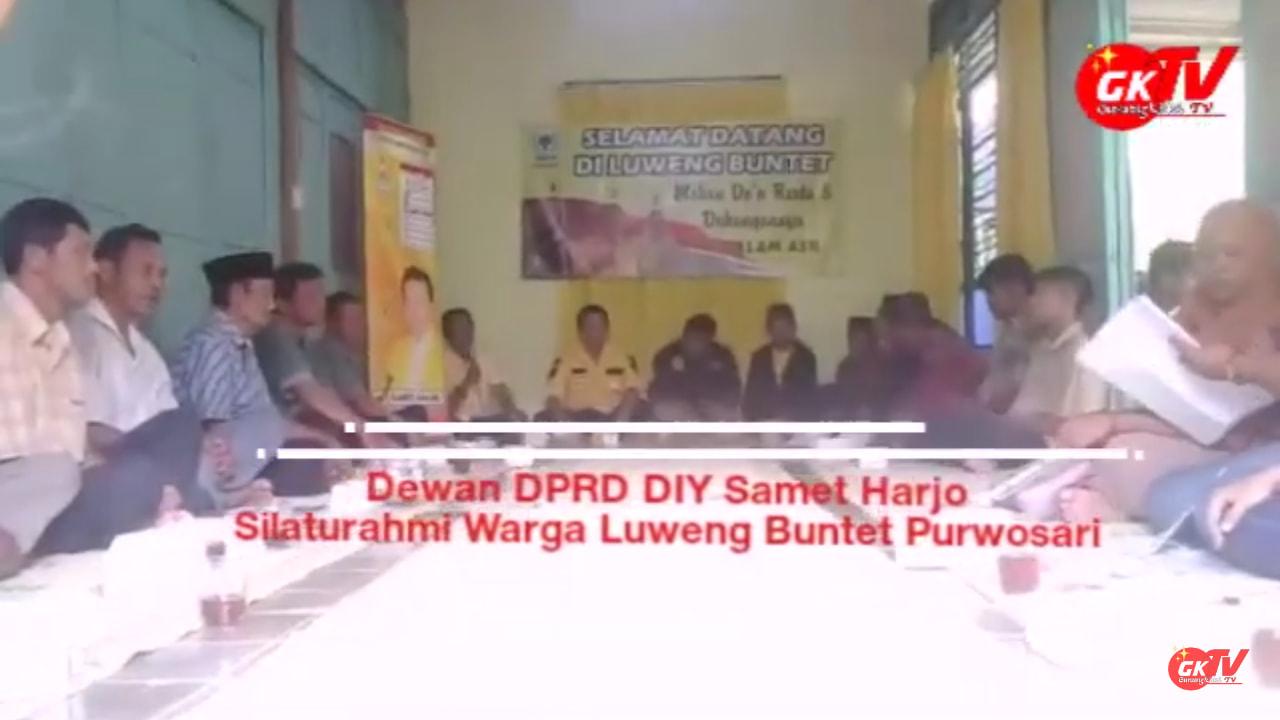 Slamet S.Pd. Sambangi Warga Luweng Buntet Purwosari