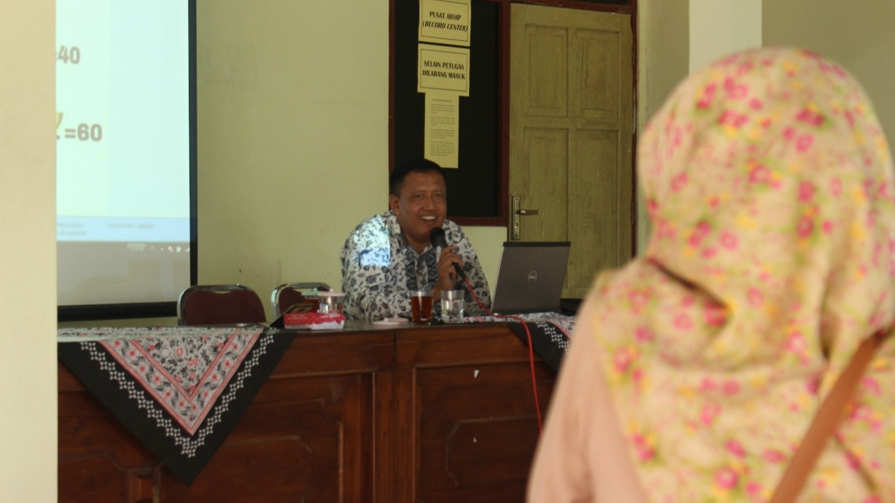 Slamet S.Pd. Adakan Aspirasi  di Giripurwo Purwosari