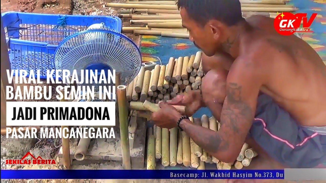 Inspirasi Usaha #3: Kerajinan Bambu Kaliman Semin Ekspor Hingga ke Mancanegara